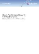 Full Disk Encryption (FDE) von Check Point