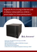 Digitale Archvierung in KMU, praktikabel mit Komplettsystem?