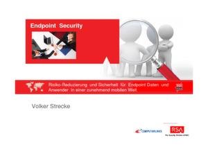 Risiko-Reduzierung für Endpoint-Daten und –Anwender