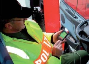 Sicherheit mit handheld-gestütztem Fahrzeuginspektionssystem
