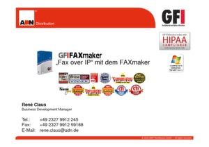 Fax over IP mit dem GFI FAXmaker 2010