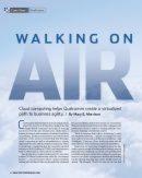 Auf Wolken spazieren