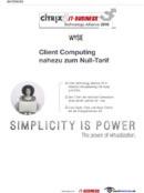 Wirtschaftliches Client Computing für einen höheren ROI