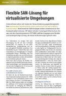 Flexible SAN-Lösung für virtualisierte Umgebungen