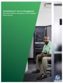 Standardizing IT Service Management