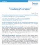 Disaster Recovery durch Virtualisierung und Cloud Computing