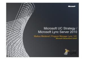 Microsoft Lync Server 2010