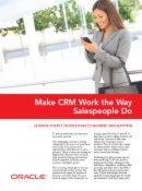 Lassen Sie CRM genauso arbeiten wie Ihre Außendienstler
