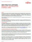Microsoft SQL-Backup mit Eternus CS800