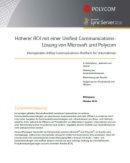Höherer ROI mit einer Unified Communications-Lösung