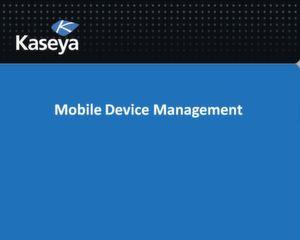Die Mobile-Device-Managementlösung von Kaseya