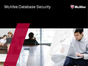 McAfee Database Security