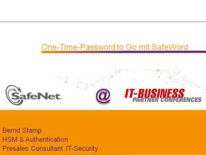 Kunden-Anwendungen mit SafeWord schützen