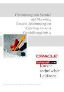 Optimierung von Vertrieb und Marketing