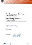 Von der privaten Cloud zur hybriden Cloud