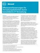 Effizienzverbesserung für Verwaltungsbehörden