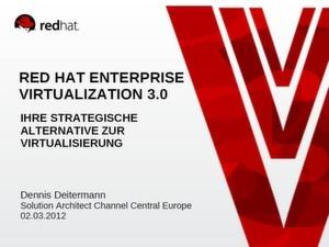 Neue Virtualisierungslösung von Red Hat