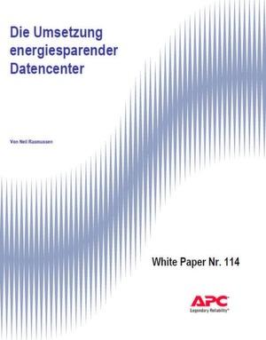 Die Umsetzung energiesparender Datencenter