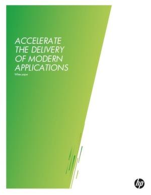 Beschleunigen Sie die Bereitstellung moderner Applikationen
