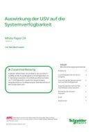 Auswirkung der USV auf die Systemverfügbarkeit