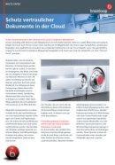 Schutz vertraulicher Dokumente in der Cloud