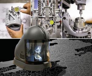 Avec la Micro5 l'usinage a été complètement repensé autour de la pièce à usiner. En comparaison d'une machine classique, les masses en mouvement ont été drastiquement réduites.