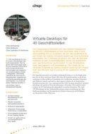 Virtuelle Desktops für 40 Geschäftsstellen