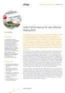 Volle Performance für den Wiener Webauftritt
