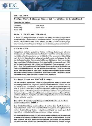 Unter der Lupe: Unified Storage von NetApp