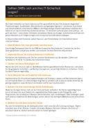 Sieben Tipps für höhere Cybersicherheit