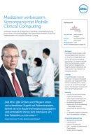 Medizinische Versorgung mit Mobile Clinical Computing
