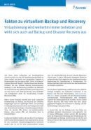 Fakten zu virtuellem Backup und Recovery