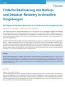 Realisierung von Backup- und Desaster-Recovery