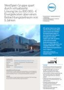 Durch virtualisierte Lösung Energiekosten sparen