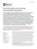 Zero-Day-Angriffsschutz als Teil des Schwachstellenmanagements