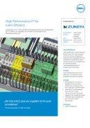 High Performance IT für mehr Effizienz