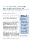 Auf dem Weg zu 10-GbE-Top-of-Rack-Netzwerken