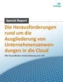 Ausgliederung von Unternehmensanwendungen in die Cloud