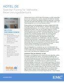 Speicher-Tuning für weltweite Reservierungsdatenbank