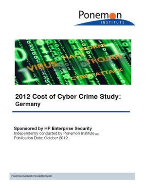 Das kostet Cyberkriminalität in Deutschland