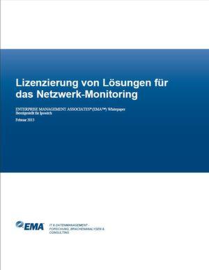 Lizenzierung von Lösungen für das Netzwerk-Monitoring