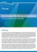 Bedenkenloses File Sharing in Unternehmen