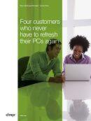 Vier Unternehmen, die ihre PCs nie wieder erneuern müssen