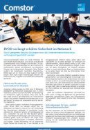 BYOD verlang erhöhte Sicherheit im Netzwerk