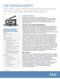 Filmproduktionsunternehmen zentralisiert Infrastruktur