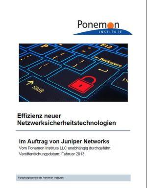 Effizienz neuer Netzwerksicherheits-Technologien