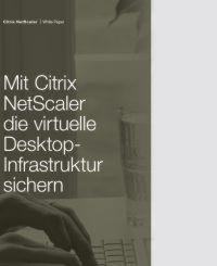 Wie Sie die virtuelle Desktop-Infrastruktur sichern