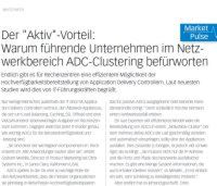 ADC-Clustering im Netzwerkbereich