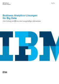 Business Analytics-Lösungen für Big Data