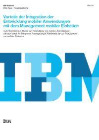 Management mobiler Anwendungen und Einheiten